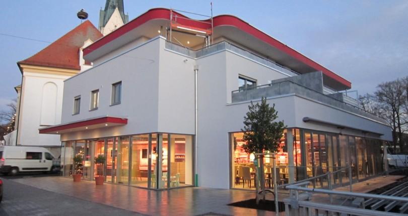 Neubau einer Metzgereigewerbeeinheit in Thannhausen
