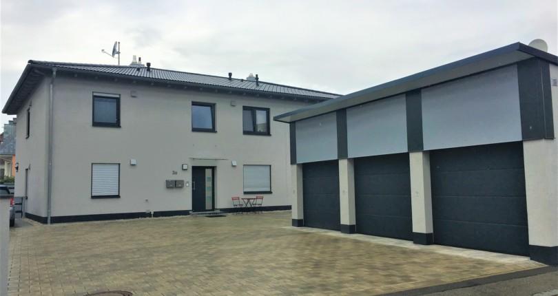 Neubau von 3 Wohneinheiten in Thannhausen