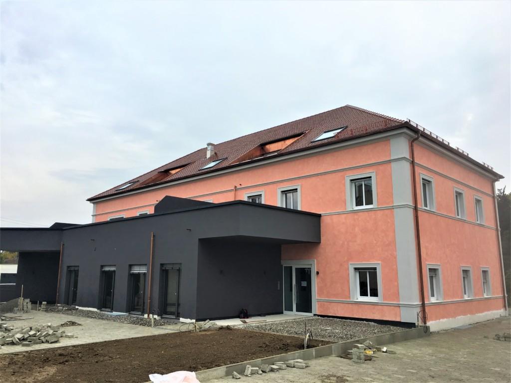 Neubau Wohn- und Geschäftshaus in Burgau – Rauner Bau Thannhausen