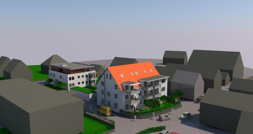 Sanierung und Neubau in Thannhausen