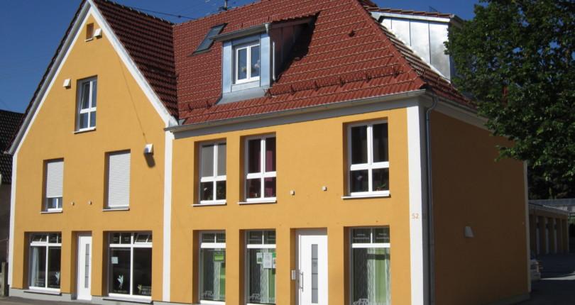 Umbau und Sanierung einer Gewerbeeinheit in Thannhausen