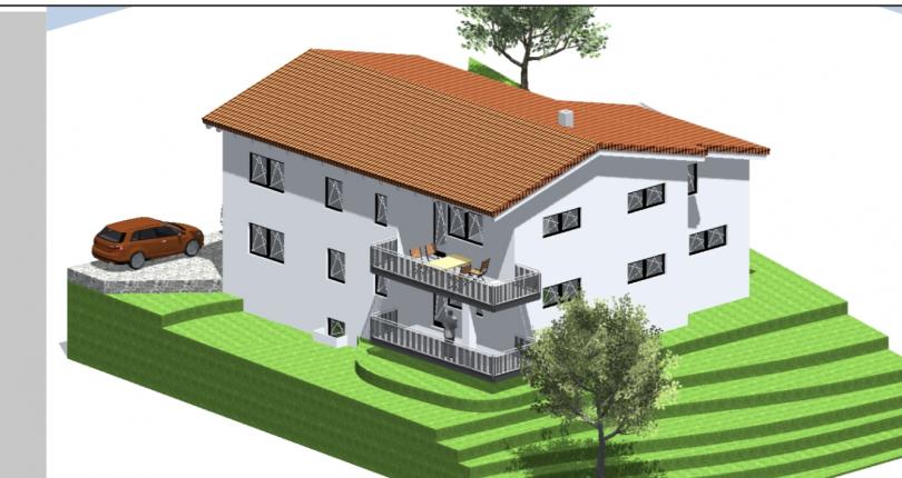 Neubau zwei Familienhaus in Thannhausen (Beatussteig)