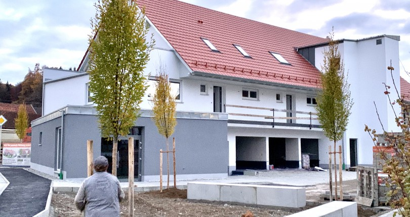 Neubau von 7 WE mit Dorfladen in Mindelzell